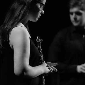 Špela Šrgan, magistrica glasbe, klarinetistka (Foto: osebni arhiv Špele Šrgan)
